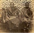 Albumen photograph of Indian ladies (c. 1860s).jpg