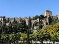Alcazaba de Málaga, desde el paruqe.JPG