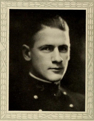 Alden Sanborn - Sanborn as a midshipman, ca. 1922