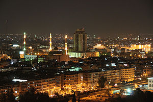 Governorates of Syria - Image: Aleppo nights k