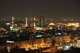 Governorates of Syria - Image: Aleppo nights k