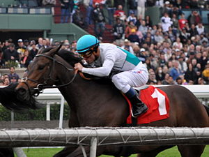Alex Solis - Solis on Leandros, Santa Anita Park, 2009