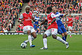 Alex Song, Emmanuel Eboue and Lee Bowyer.jpg