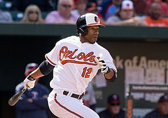 Alexi Casilla - Casilla with the Baltimore Orioles in 2013