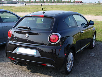 Alfa Romeo MiTo - Rear view of Mito