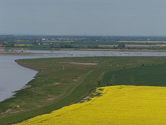 Alkborough - Alkborough Flats and the confluence of the Rivers Trent, Ouse and Humber