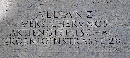 Allianz Se Wikiwand