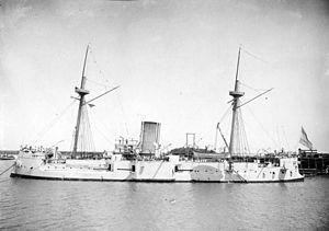 ARA Almirante Brown (1880) - Image: Alm Brown Acorazado