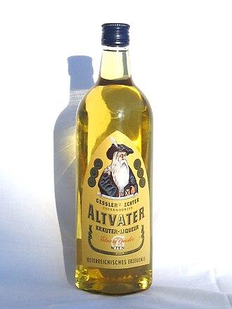 "Gessler (company) - ""Altvater"" liqueur by Gessler"