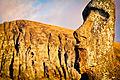 Amanecer Moai Rano Raraku - Flickr - Alanbritom.jpg