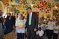 Ambassador Dominic Asquith visiting a school outside Cairo (3530869500).jpg