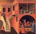 Ambrogio lorenzetti, scene della vita di san nicola 01.jpg