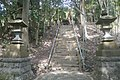 Amenoshirahano shrine - ibaraki - main stairs - 2019-4-29.jpg