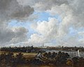 Amsterdam, as seen from the Amsteldijk (ca 1660), by Jacob van Ruisdael.jpg