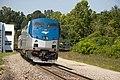 Amtrak Wolverine leaving Ann Arbor station, August 2011.jpg