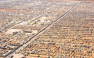 Zaatari refugee camp Refugee camp in Mafraq Governorate, Jordan