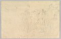 An Antique Sacrificial Scene; verso- Sketch of a Group of People MET DP827586.jpg