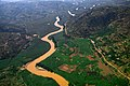 An aerial of Nyabarongo River from Nyungwe National Park to River Nile. Emmanuel Kwizera.jpg