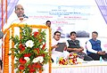 Anant Geete addressing at the foundation stone laying ceremony for Passenger Jetty, at Kanhoji Angre Light House (Island). The Union Minister for Road Transport & Highways and Shipping.jpg