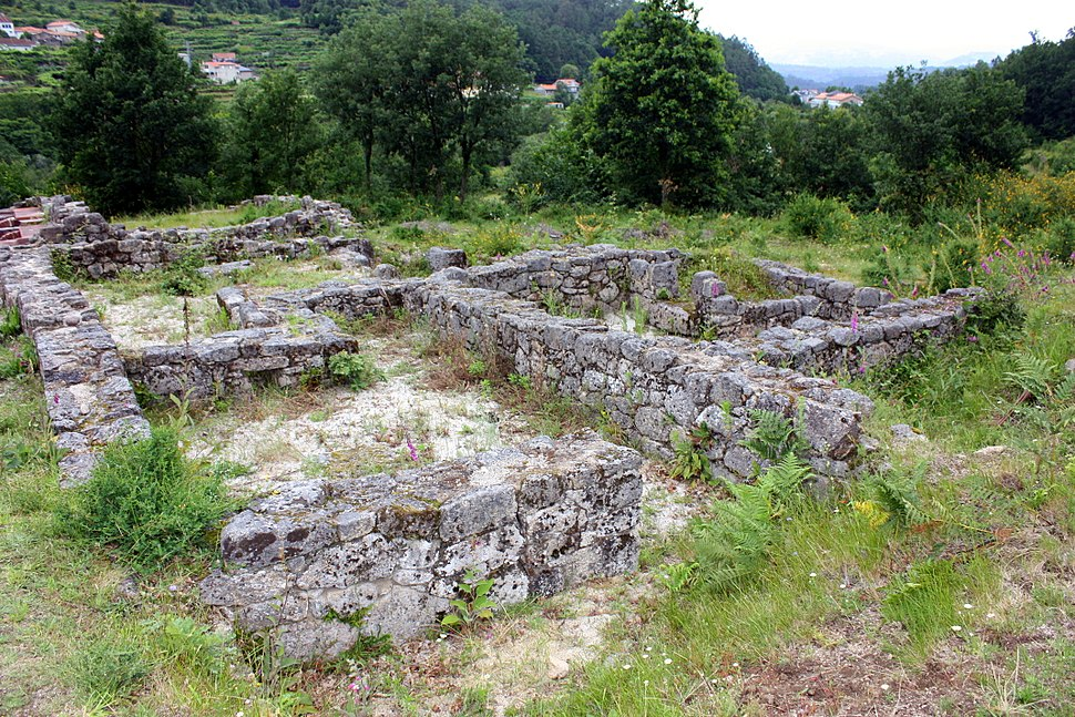 Ancient Roman thermae in Lobios, Ourense, Galicia, Spain