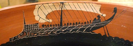 Ancient ship 6th c. BC (2)