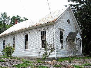 National Register of Historic Places listings in Tolland County, Connecticut - Image: Andover Historical Society, Andover, Connecticut