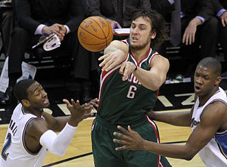 Andrew Bogut - Bogut with the Bucks in 2011