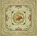 Anoniem, Ontwerp voor de versiering van een plafond in neo-classicistische stijl - Ébauche de décoration d'un plafond dans le style néoclassique, KBS-FRB.jpg