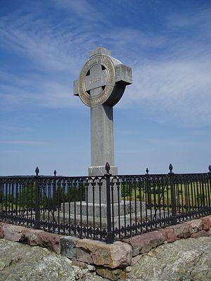 Björkö, Ekerö - The Ansgar Cross