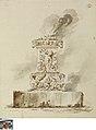 Antiek altaar met brandoffer, circa 1686 - circa 1755, Groeningemuseum, 0041381000.jpg