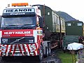 Antique railway carriage on the move - geograph.org.uk - 704608.jpg