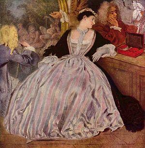 L'Enseigne de Gersaint - Image: Antoine Watteau 049