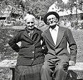 Anton Cuder in njegova žena Terezija, Trenta 1952.jpg