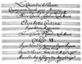 Antonio Caldara - La concordia de' pianeti - title page of the manuscript - Vienna 1723.png