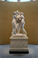 Antonio Canova (1757-1822) - The Three Graces, Woburn Abbey version (1814-1817) front wide view, Victoria and Albert Museum, April 2013 (11059679673).png