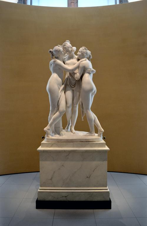 File:Antonio Canova (1757-1822) - The Three Graces, Woburn ...