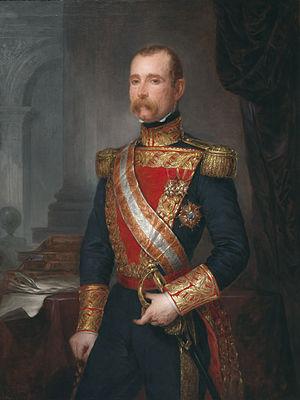 Antonio Ros de Olano - Portrait by José Gutiérrez de la Vega