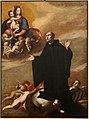 Antonio de bellis, sant'oderisio in gloria dinanzi alla madonna della purità, 1600-50 ca.jpg