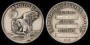 Apollo 11 Flown Silver Robbins Medallion (SN-416)