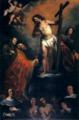 Apparizione di Gesù a san Gregorio - O. De Ferrari.png