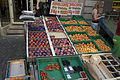 Apricots, peaches and strawberries for sale on Lausanne street market.jpg