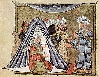 Ghassanid Kingdom - Image: Arabischer Maler um 1335 003