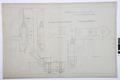 Arbetsritning för fastigheten nr 4 Hamngatan. Ytterportens gångjärn - Hallwylska museet - 105259.tif