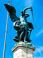 Archangel Michael Statue on Castel Sant'Angelo - Rome, Italy.jpg