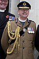 Archbishop of Canterbury with military chaplains (Jonathan Woodhouse cropped 2).jpg