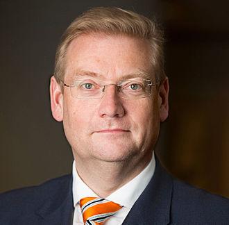 Ard van der Steur - Image: Ard van der Steur 2015 (2)