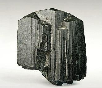 Arfvedsonite - Image: Arfvedsonit 167989