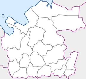 Arhanghelsk is located in Arkhangelsk Oblast