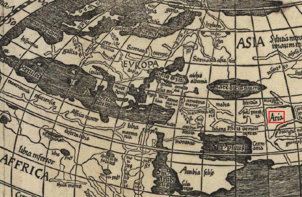 Aria Waldseemuller 1507