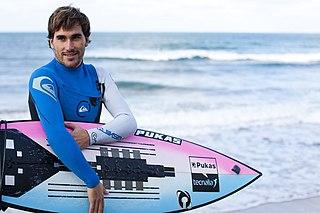 Aritz Aranburu Spanish professional surfer